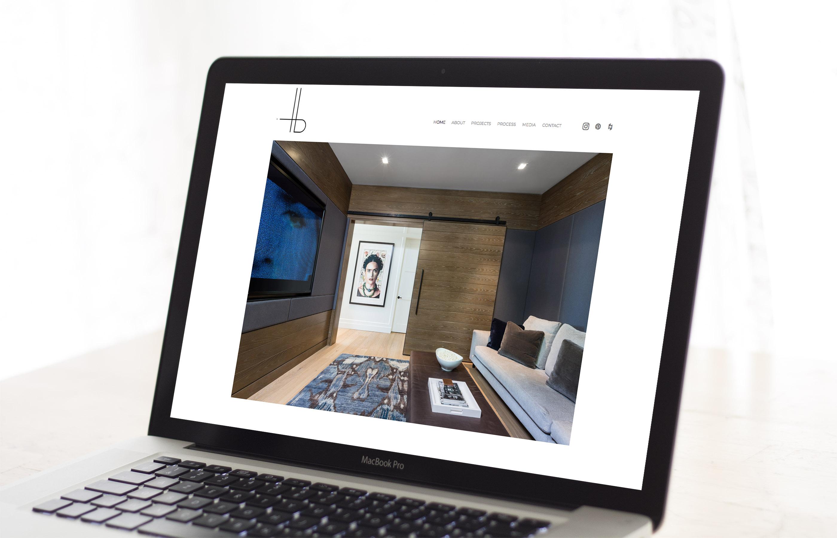 HB Design - Website Sample 1