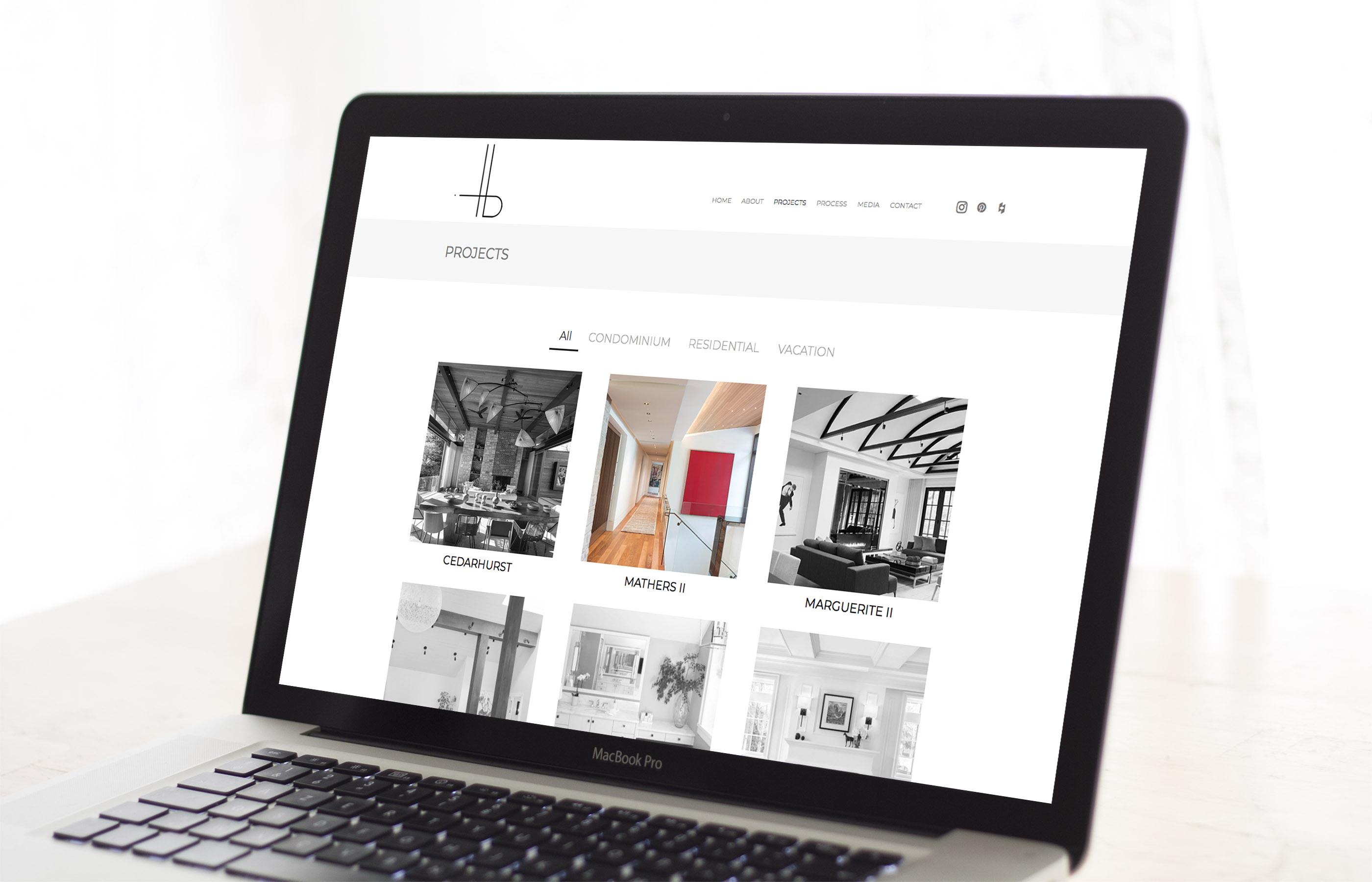 HB Design - Website Sample 2