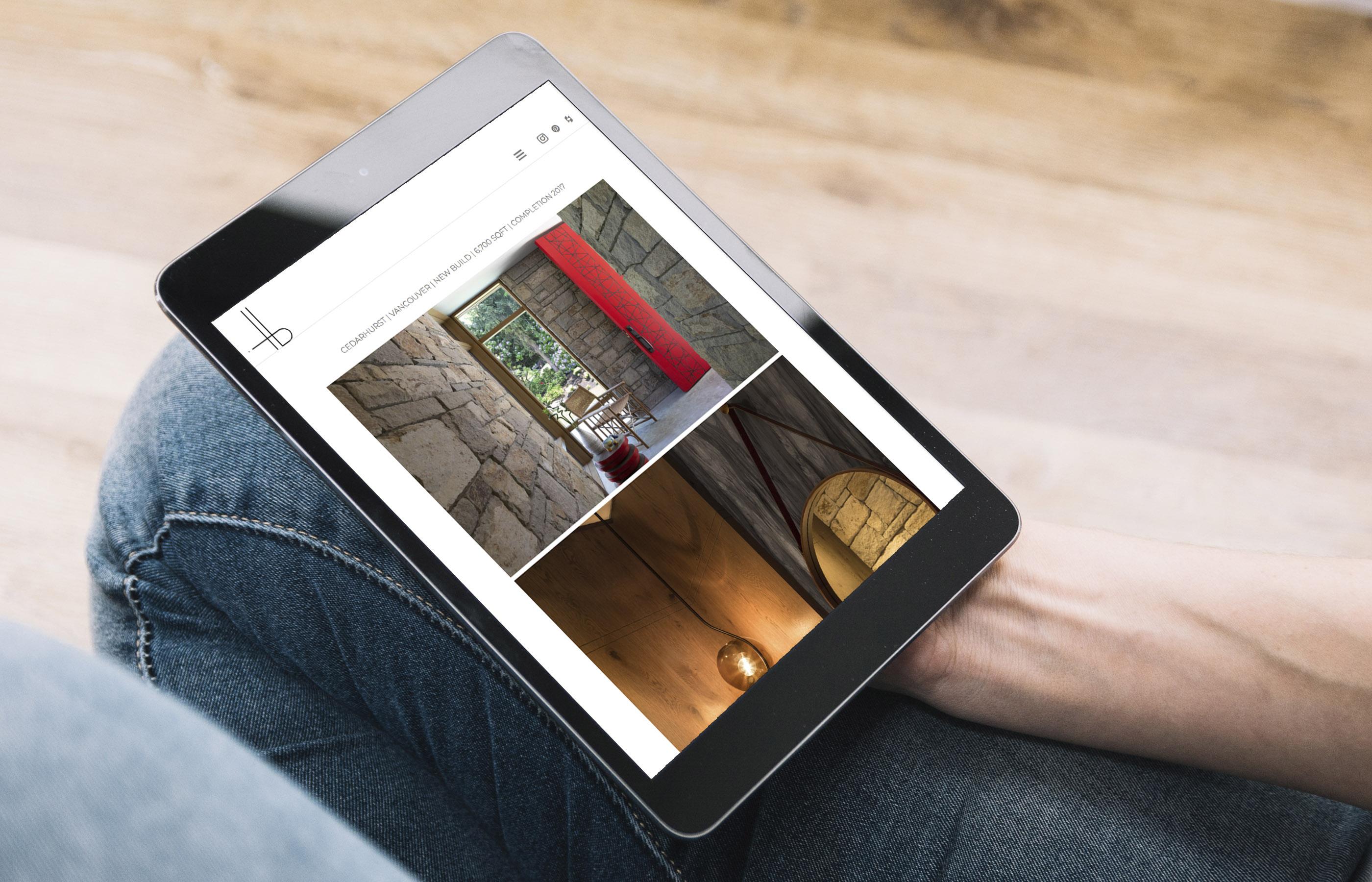 HB Design - Website Sample 3