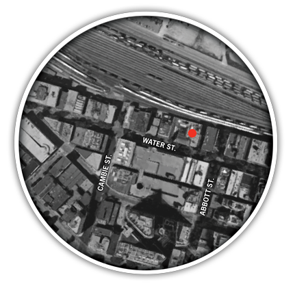 Myron Advertising + Design Location Map
