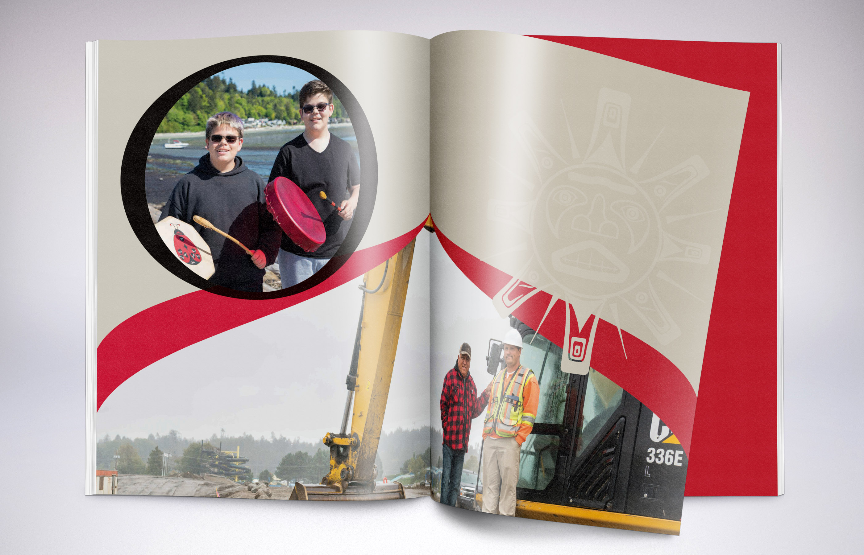 Tsawwassen First Nation - Graphic Design Sample 3
