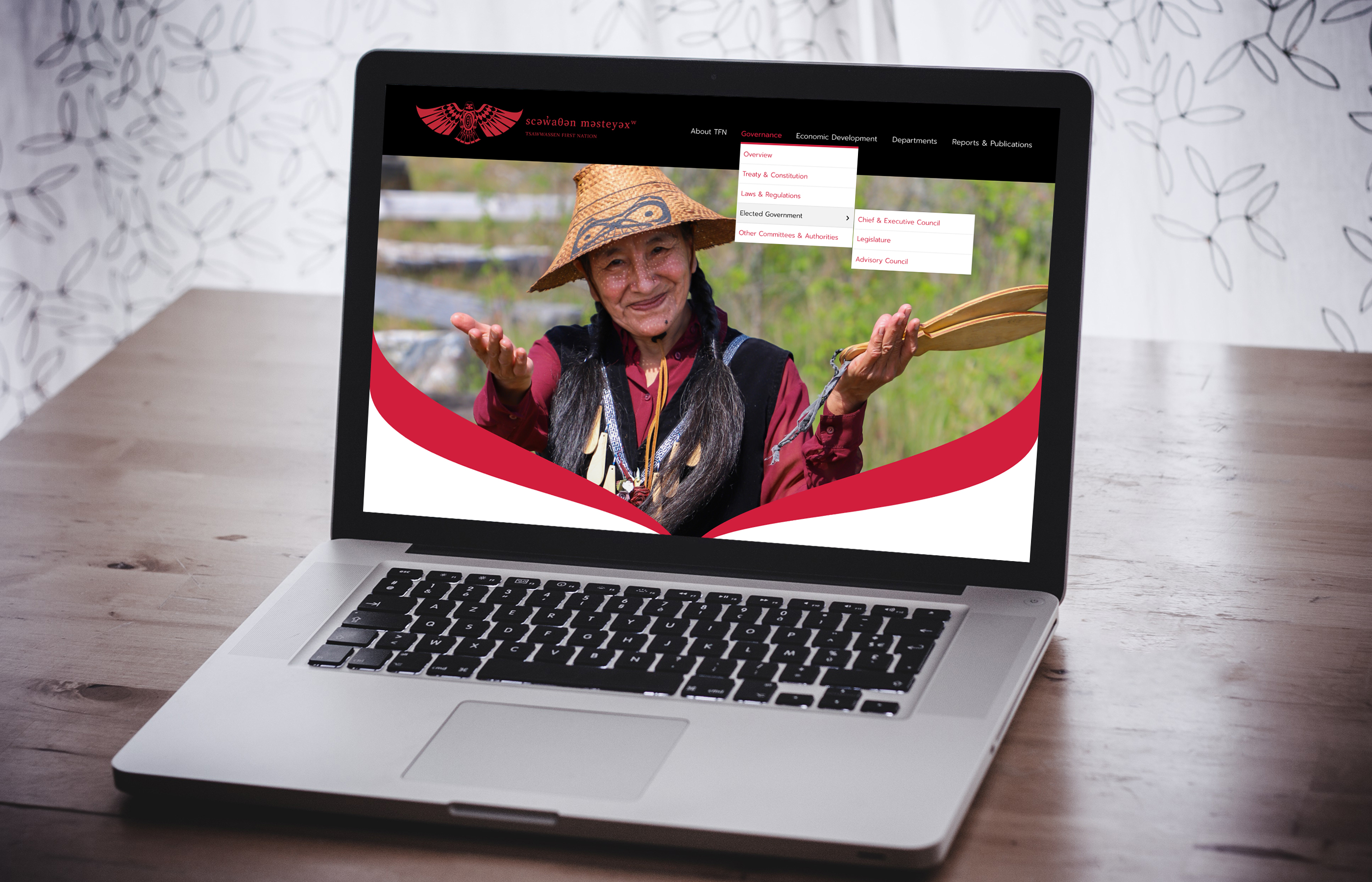 Tsawwassen First Nation - Website Sample 1